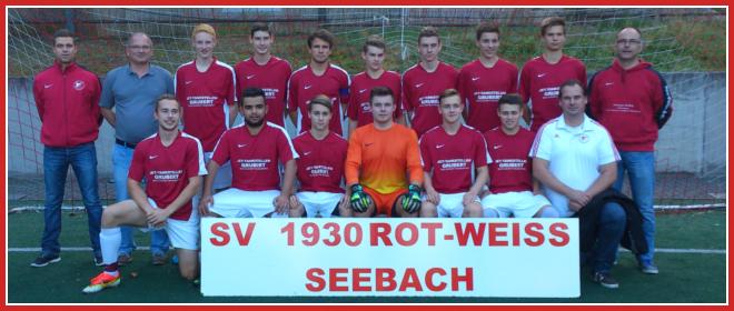 Die A-Jugend Mannschaft des SV 1930 Rot-Weiss Seebach e.V. 2014/15