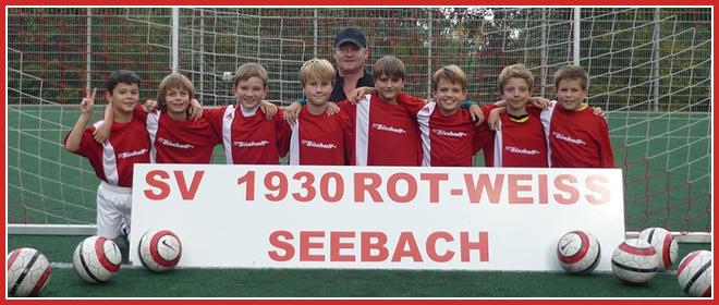 Die E2-Jugend Mannschaft des SV 1930 Rot-Weiss Seebach e.V. 2014/15
