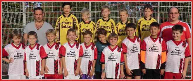 Die E3-Jugend Mannschaft des SV 1930 Rot-Weiss Seebach e.V. 2014/15