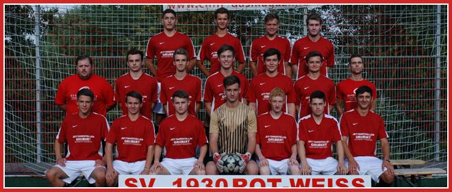Die A-Jugend Mannschaft des SV 1930 Rot-Weiss Seebach e.V. 2013/14