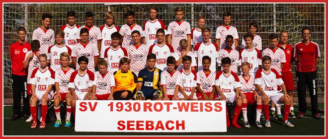 Die C-Jugend Mannschaft des SV 1930 Rot-Weiss Seebach e.V. 2013/14