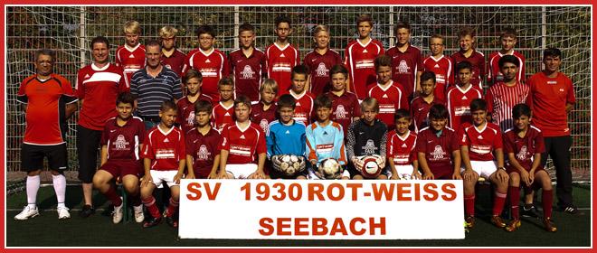 Die D-Jugend Mannschaft des SV 1930 Rot-Weiss Seebach e.V. 2013/14