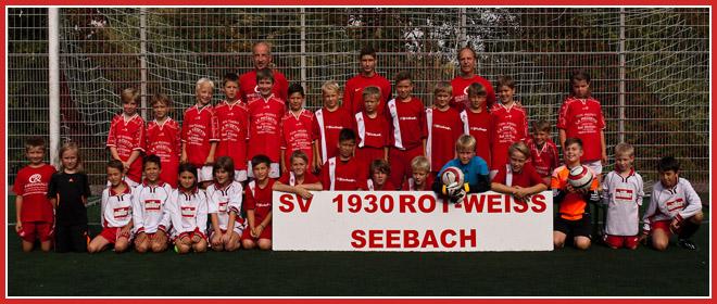 Die E-Jugend Mannschaft des SV 1930 Rot-Weiss Seebach e.V. 2013/14