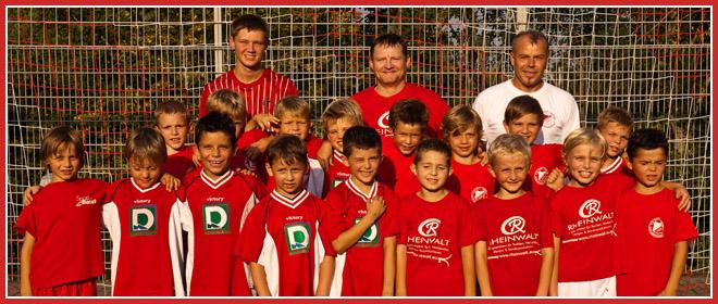 Die F-Jugend Mannschaft des SV 1930 Rot-Weiss Seebach e.V. 2013/14