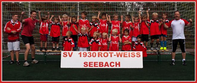 Die G-Jugend Mannschaft des SV 1930 Rot-Weiss Seebach e.V. 2013/14