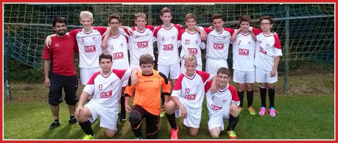 Die C2-Jugend Mannschaft des SV 1930 Rot-Weiss Seebach e.V. 2014/15