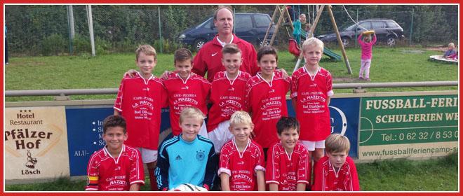 Die E1-Jugend Mannschaft des SV 1930 Rot-Weiss Seebach e.V. 2014/15