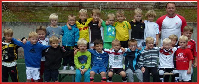 Die G-Jugend Mannschaft des SV 1930 Rot-Weiss Seebach e.V. 2014/15