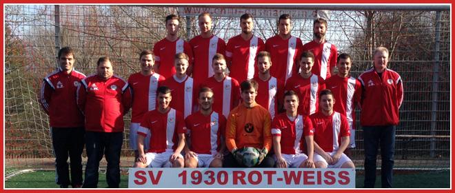 Die 2. Mannschaft des SV 1930 Rot-Weiss Seebach e.V.