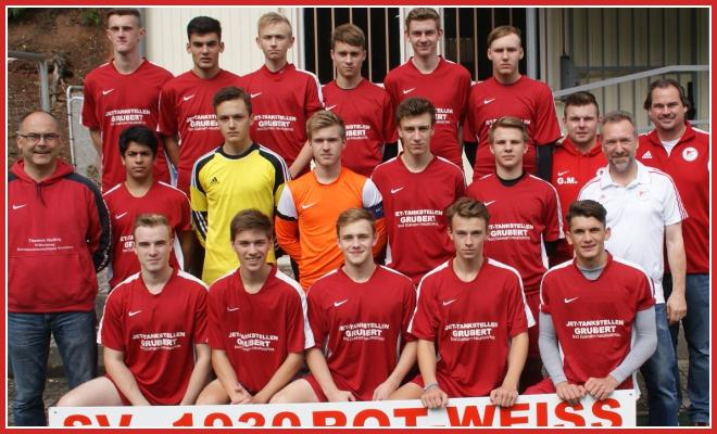 Die A-Jugend Mannschaft des SV 1930 Rot-Weiss Seebach e.V. 2015/16
