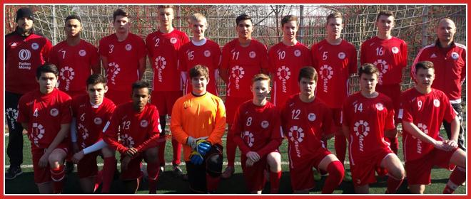 Die B-Jugend Mannschaft des SV 1930 Rot-Weiss Seebach e.V. 2015/16