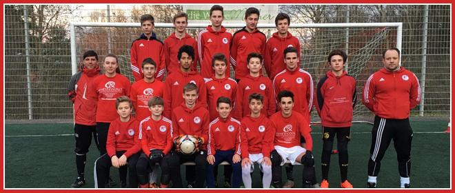 Die C1-Jugend Mannschaft des SV 1930 Rot-Weiss Seebach e.V. 2015/16