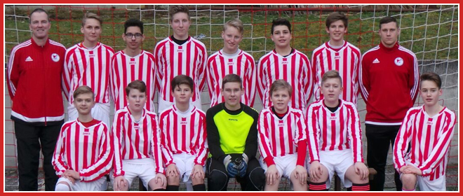 Die C2-Jugend Mannschaft des SV 1930 Rot-Weiss Seebach e.V. 2015/16