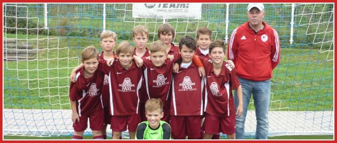 Die E1-Jugend Mannschaft des SV 1930 Rot-Weiss Seebach e.V. 2015/16