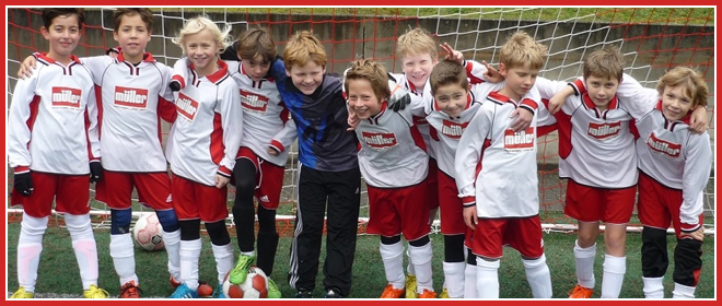 Die E2-Jugend Mannschaft des SV 1930 Rot-Weiss Seebach e.V. 2015/16