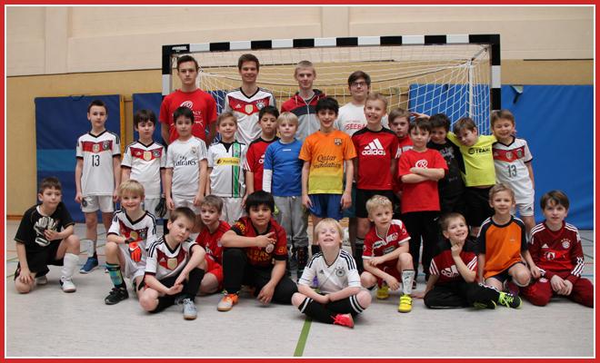 Die F-Jugend Mannschaft des SV 1930 Rot-Weiss Seebach e.V. 2015/16