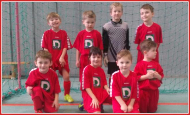 Die G-Jugend Mannschaft des SV 1930 Rot-Weiss Seebach e.V. 2015/16