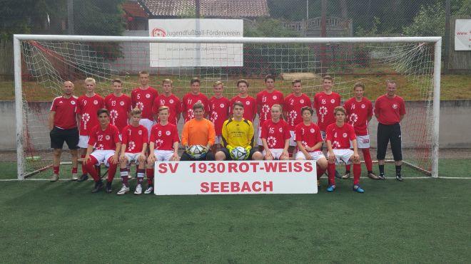 Die B1-Jugend Mannschaft des SV 1930 Rot-Weiss Seebach e.V. 2016/17
