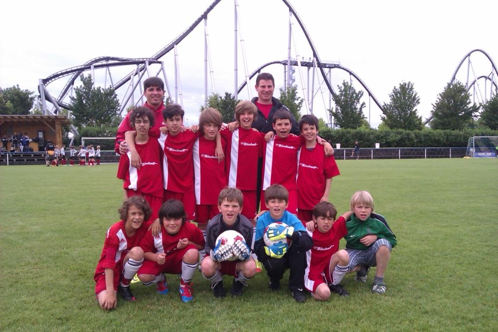 Die E-Jugend Mannschaft des SV 1930 Rot-Weiss Seebach e.V. 2011/12 (Rust)