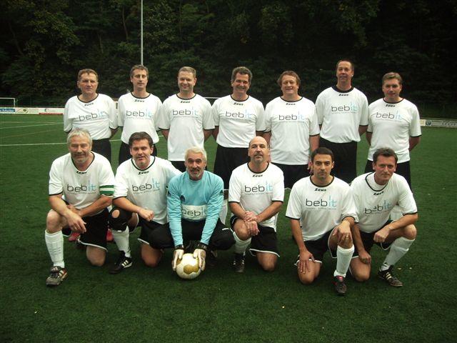 Die AH-Mannschaft der SG TV Ungstein / SV RW Seebach