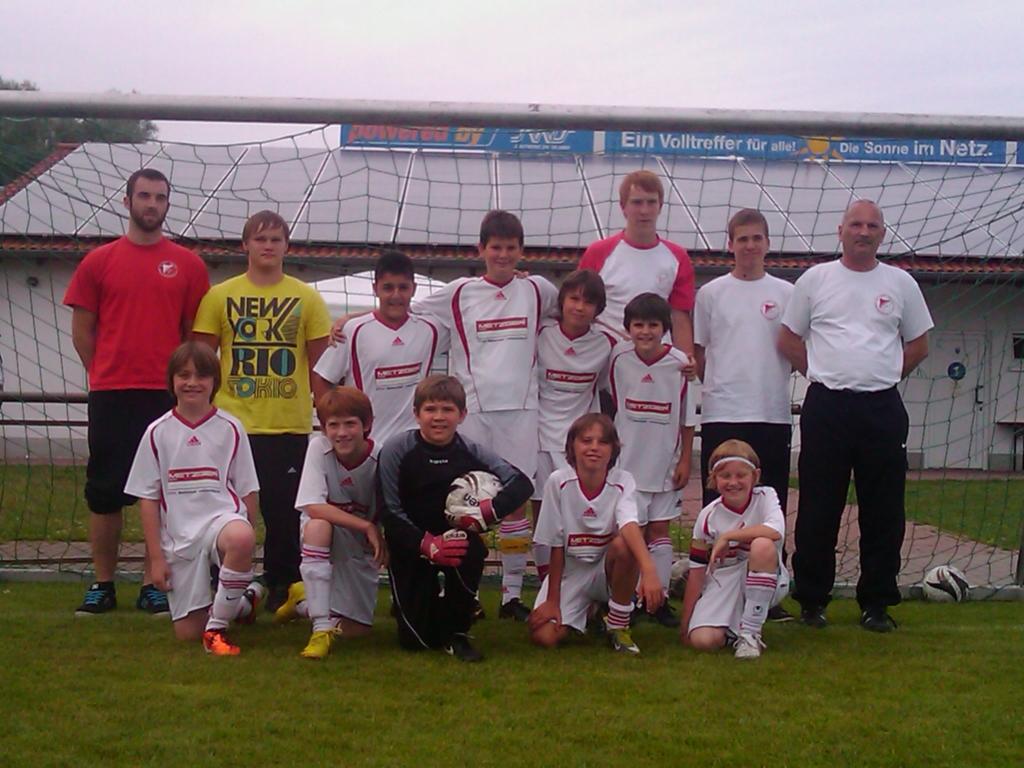 Die E-Jugend Mannschaft des SV 1930 Rot-Weiss Seebach e.V. 2010/11