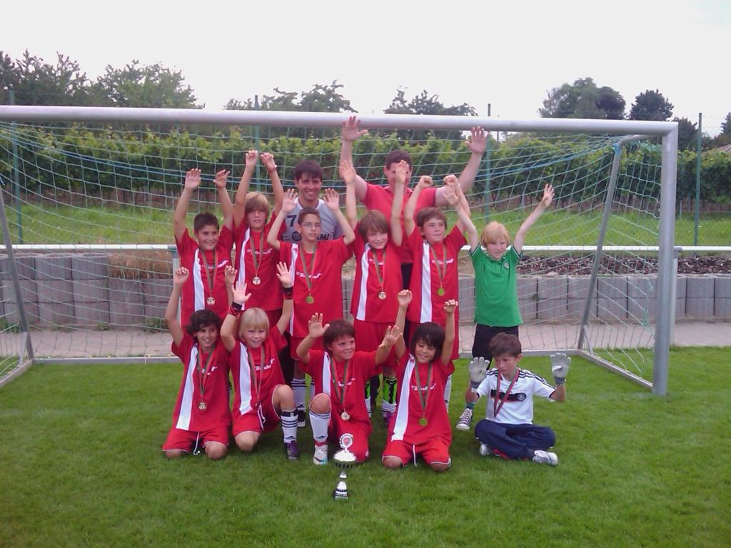 Die E-Jugend Mannschaft des SV 1930 Rot-Weiss Seebach e.V. 2011/12 (Kircheim)