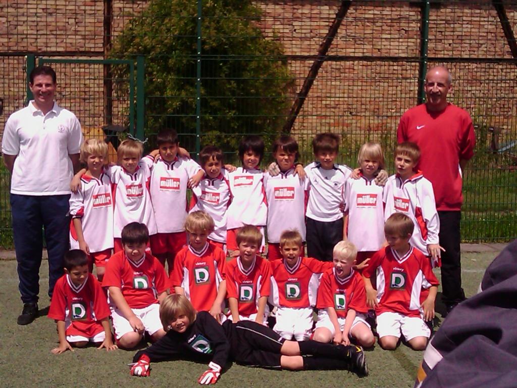 Die F-Jugend Mannschaft des SV 1930 Rot-Weiss Seebach e.V. 2010/11
