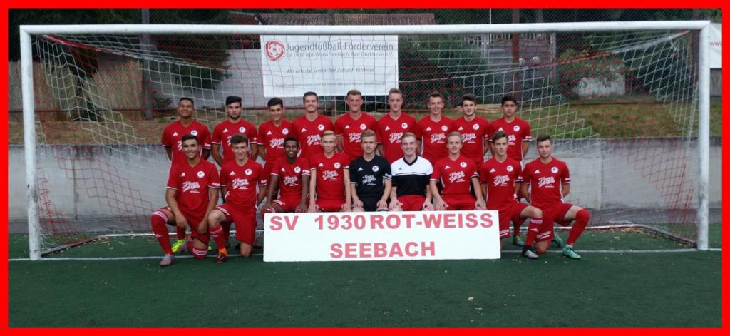 A-Jugend MAnnschaft SV 1930 Rot Weiss Seebach 2016/17