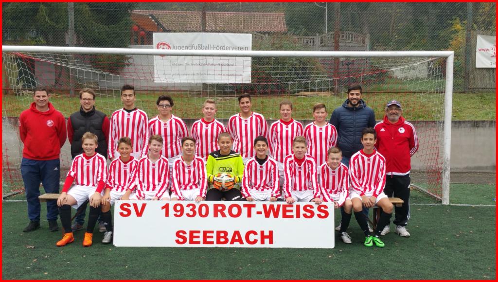 C2 Jugend SV Rot Weiss Seebach Saison 2016/17