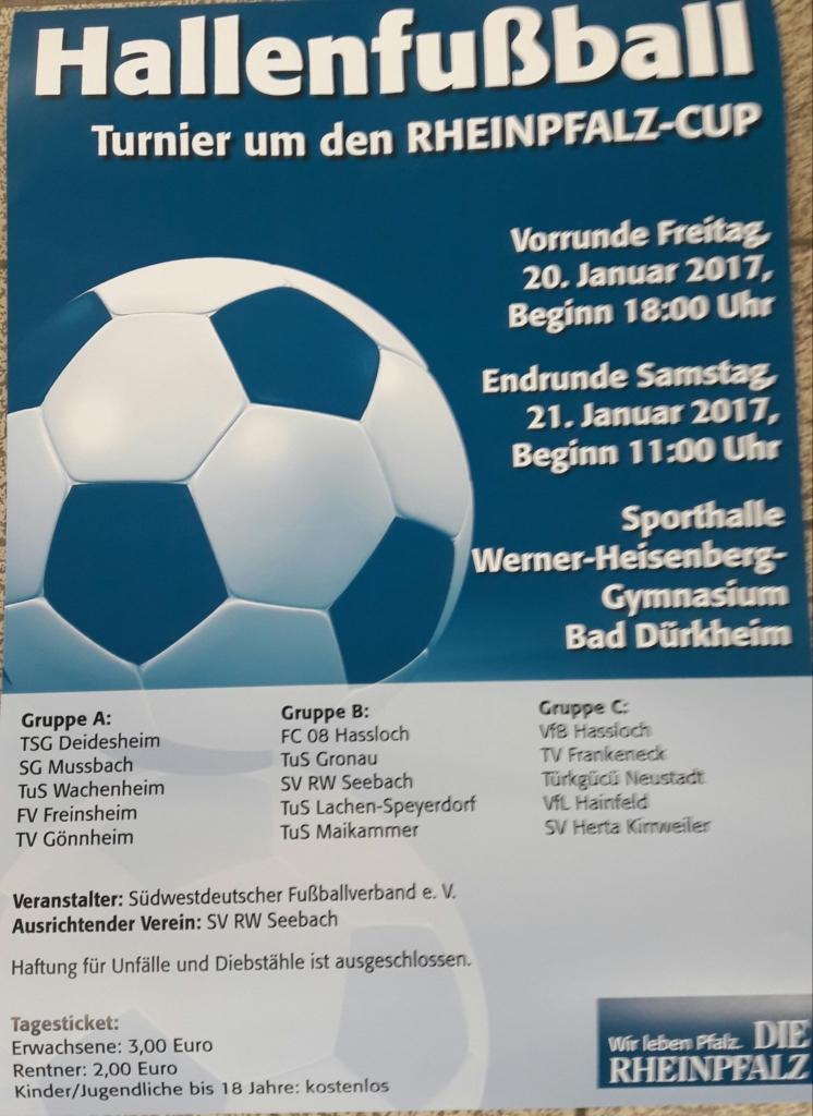 Flyer Rheinpfalzturnier 2017