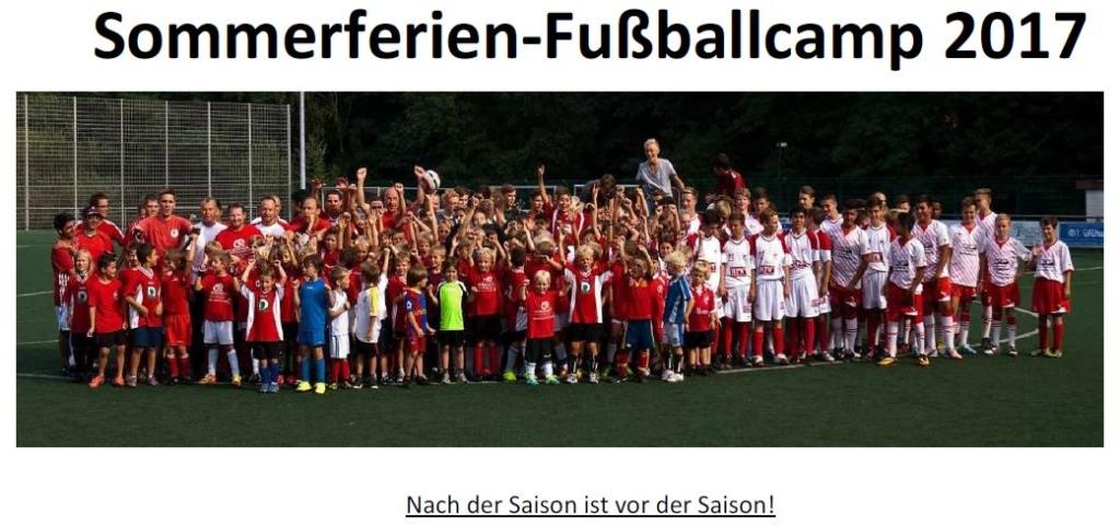 Thumbnail Sommerferien Fussballcamp 2017