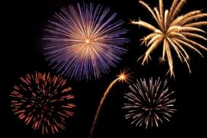 fireworksbursting
